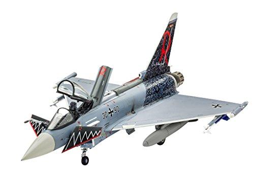 Revell Modellbausatz Flugzeug 1:72 - Eurofighter Typhoon single seater im Maßstab 1:72, Level 3