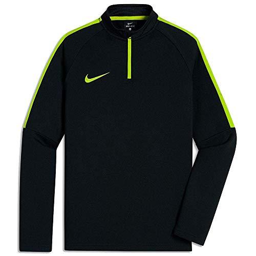 4447d9c1d8 Nike et NK Dry acdmy coutil Top T-Shirt Unisexe Enfant L Noir (Noir