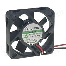 Sunon MB40100V2-A99 - Ventilador (40 x 40 x 10 mm, 5 V, 5800 rpm, 27 dBA)