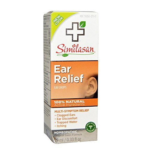 Earache Drops (Similasan Earache Relief Ear Drops, .33-Ounce Bottles (Pack of 3) by Similasan)