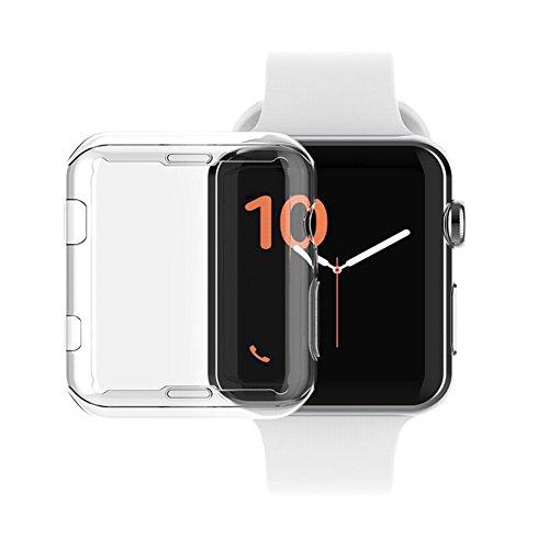 Arktis 360 Fullbody Case für Apple Watch 42 mm Series 2 und 3 - Transparent Progressive Apple