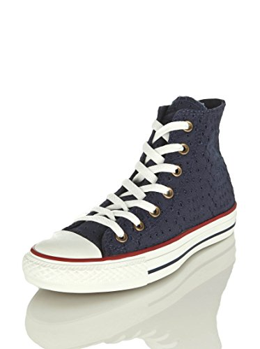 Converse , Hi-Top Sneakers mixte adulte Bleu Marine