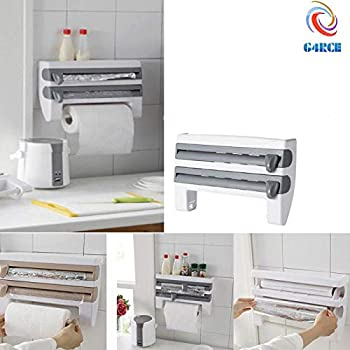Contura Triple Roll Dispenser For Foil Cling Film And