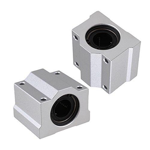 CNBTR 2 pz SC16UU SCS16UU 16mm Lineare Sfera Di Movimento Cuscinetto Macchinari