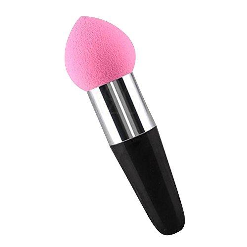 Contever® 1 pcs Lollipop Poudre Puff Stylo Pinceaux de Maquillage Liquide Crème Fondation Correcteur Eponge Brosse (Couleur Aléatoire) -- Forme Goutte