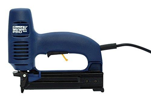 Rapid, 10643015, Agrafeuse électrique, Puissance et précision, Grande capacité, Pour un usage régulier, Agrafes incluses, PRO