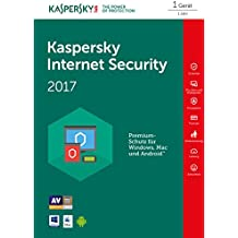 Kaspersky Internet Security 2017 1 Gerät - [Online Code]