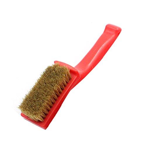 OUNONA 170 x 350 mm Handbürste mit Holzgriff Glanzbürste Schuhputzbürsten Pflegung und Reinigung Bürsten für Schuhe Leder Kleidung Taschen -