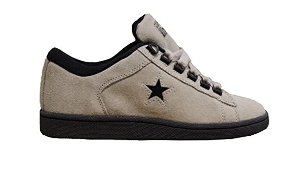 36b6093796c Converse Skateboard Shoes Starwood Suede Ox Taupe Black Sneakers shoes