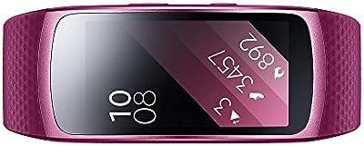 Samsung SM SM-R3600ZIAXEF Gear Fit 2Pulsera de fitness con GPS (tamaño: L), color rosa