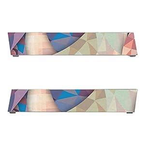 Disagu SF-sdi-3316_1230 Design Schutzfolie für Nintendo Wii Fuß Motiv Abstrakt 01″ klar