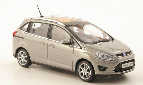 Preisvergleich Produktbild Ford Grand C-Max, metallic-grau, 2010, Modellauto, Fertigmodell, I-Minichamps 1:43
