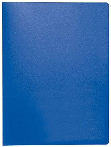 Preisvergleich Produktbild Q-Connect KF01251 Sichtbuch - 20 Hüllen,  Einband PP,  450 mym,  blau