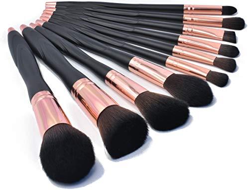 Professionelle Make up Pinsel Set 10Pcs - hoch qualitative super softe synthetische Bürsten -...