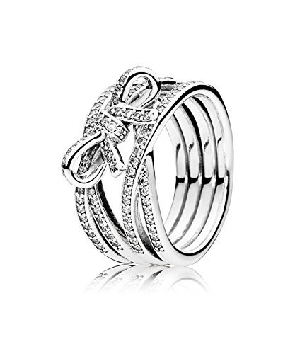 pandora foglia anello