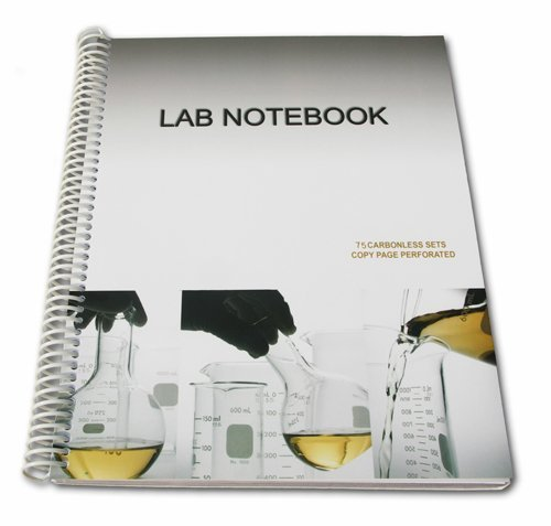 Chemistry Lab Notebook 75 Carbonless Duplicating Pages by Barbakam (2006-03-01)