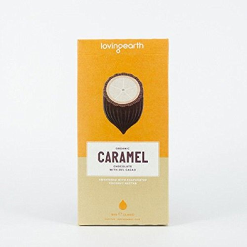 Loving Earth - Caramel Chocolate - vegan, rohkost Schokolade 80g (Nektar-protein-getränke)