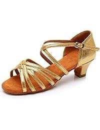 YWLINK NiñO Bebé NiñOs NiñAs Zapatos De Baile De Tango Latino para NiñOs Zapatos De Baile