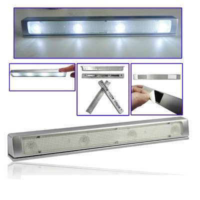 Mini Utility Shaking Sensore 4-LED Luce Lampada
