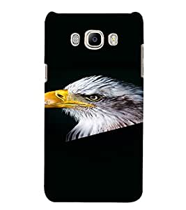 PrintVisa Eagle Bird Design 3D Hard Polycarbonate Designer Back Case Cover for Samsung Galaxy On8