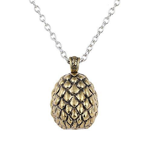 b4a5edd26aab Lureme inspirado por juego de tronos Daenerys Targaryen Dragón huevo collar  colgante (nl005372)