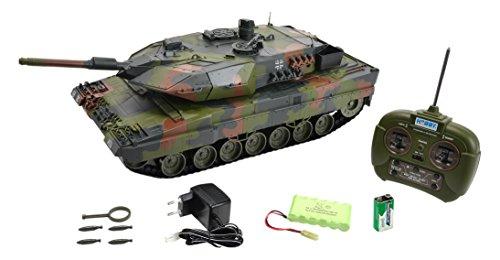 Carson 500907189 - Panzer, 1:16 Leopard 2A5, 27 MHz, 100{9e640ca6f0f0fb61d70be06320acb47e962ee9f8099ed2498872712691c84923} RTR