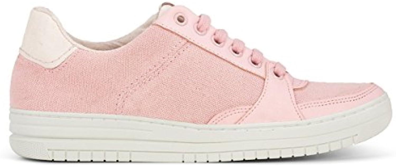 Flamingos' Life Banzai Pink Marfil - Zapatillas de Lona, Unisex -