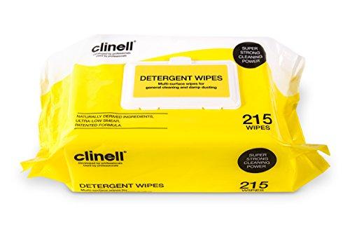 Clinell Lingettes détergent cdw215