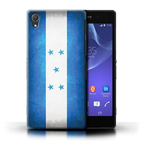 Kobalt® Imprimé Etui / Coque pour Sony Xperia Z2 / Portugal/portugais conception / Série Drapeau Honduras