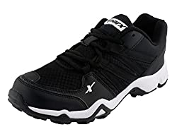 Sparx Men Black Mesh Synthetic Running Shoe 10 UK India
