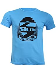Camiseta entrenamiento pádel azul