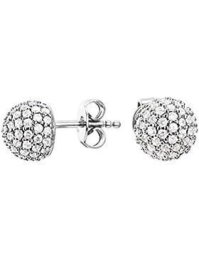 Esprit Jewels Damen-Ohrstecker 925 Sterling Silber Glam sphere ESER92607A000