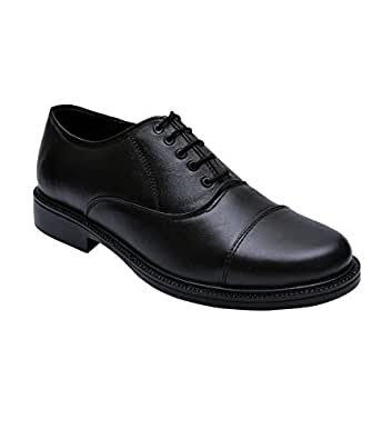 BXXY BLACK LEATHER OXFORD SHOES