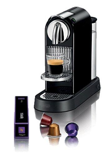De'Longhi CitiZ EN165.B macchina per caffè espresso con pompa a sistema NESPRESSO, colore nero