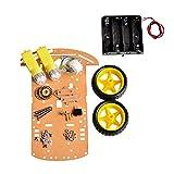 Homyl Juego de 2WD DIY Codificador de Velocidad Rueda Chasis Motor Reductor Industrial Aplicación