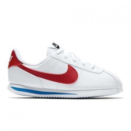 Nike Cortez Basic Sl (Ps), Chaussures de Trail Garçon, Blanc (White / Varsity Red / Varsity Royal / Black 103), 35 EU