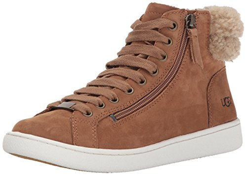 UGG Schuhe Olive Sneaker aus Wildleder Chestnut Damen Chestnut 39 (Manschette Wildleder-boot)