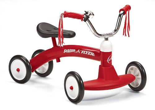 Radio Flyer - Correpasillo, color rojo (20A)