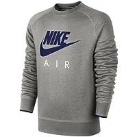Nike AW77 FLC Crew-Air HERITAG - Sudadera para Hombre