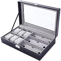 PANKATI Watch Storage Box With Faux Leather Finish