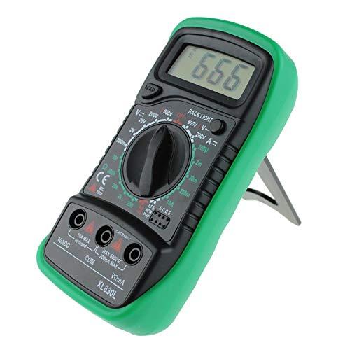 HEEGNPD Professionelle XL830L Digital Multimeter Voltmeter Amperemeter AC DC OHM Volt Tester LCD Test Strom Multimeter Überlastschutz -