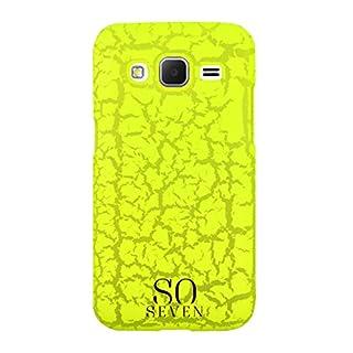 So Seven Schutzhülle Neongelb + Armband für Samsung Galaxy Core Prime