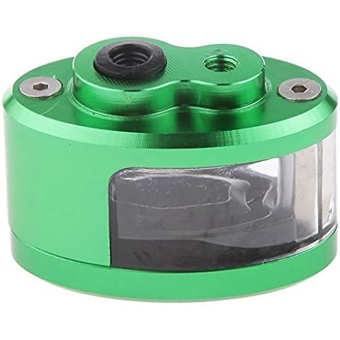 Cilindro Maestro Freno de Motocicleta Embrague de Aceite Taza Tanque Depósito de Líquido Rojo - Verde