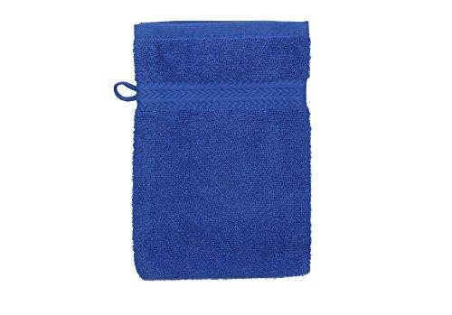 Betz set di guanti da bagno premium colore verde smeraldo e