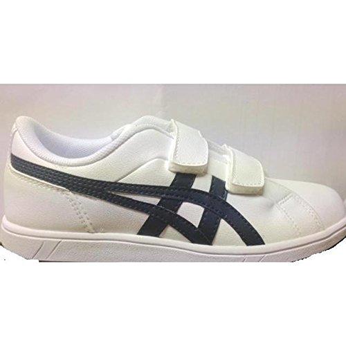 ASICS Larally Ps, Sneakers Basses mixte enfant Bianco/Blu Marino