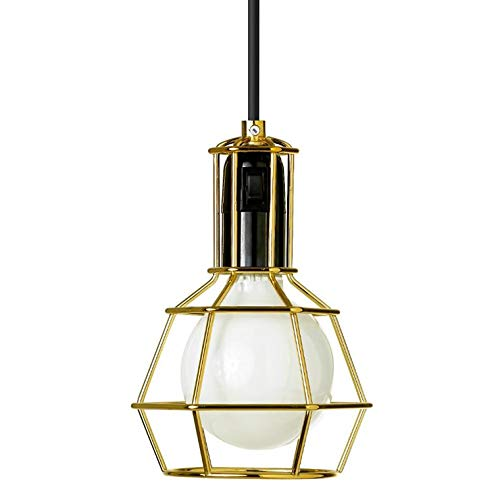 WORK LAMP - Suspension/Lampe Baladeuse Gold | Lampe à poser Design Stockholm House designé par Form Us With Love