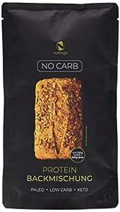 No Carb Eiweißbrot Backmischung - 3er Pack   20% Protein für 1,5 kg Brot  ...