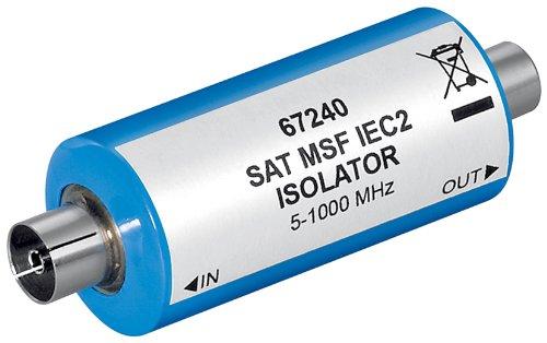 Wentronic Mantelstromfilter (Koaxial-Stecker SAT MSF IEC 2)