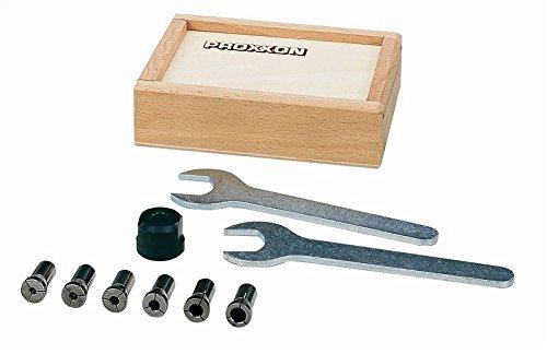 Preisvergleich Produktbild Proxxon 28200 Satz Spannzangen 6 tlg. für Tischbohrmaschine TBH & BFW40/e