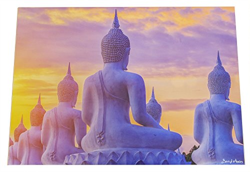 Spirit of Avalon adesive da parete Buddha Poster schermo-Meditation Yoga spiritualità esoterica